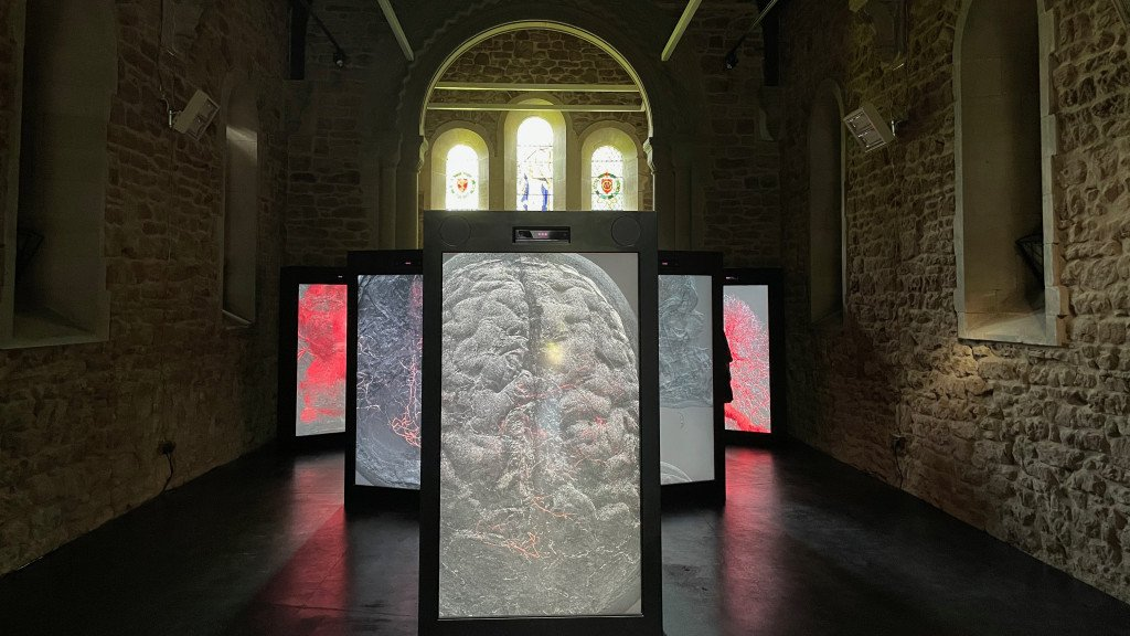 Observations on Being - Digital art in the Anglican Chapel
